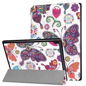 """XITODA Coque Lenovo Tab 4 10,Ultra Slim PU Cuir Etui Pochtte avec Fonction de Support Housse de Protection pour Lenovo Tab 4 10 (TB-X304F) Tablette Tactile 10,1"""" Tablet Coque Smart Case Cover(Papillon coloré) (XITODA, neuf)"""