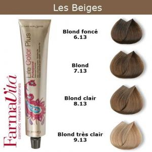 Coloration cheveux FarmaVita - Tons Beiges Blond clair beige 8.13 (Cosmetics United Boutique, neuf)