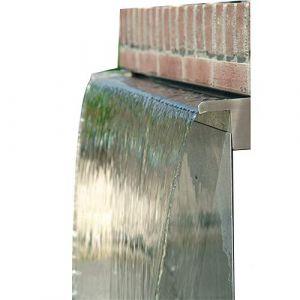 120cm - Cascade Lame d'eau en Acier Inoxydable (Poets' Corner, neuf)