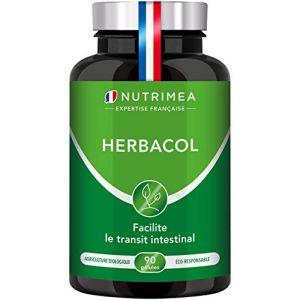 COLON CLEANSE HERBACOL - Nettoyage naturel du côlon et non agressif - Detox saine et efficace par les plantes - Soulage le côlon irritable et confort digestif - 90 gélules vegan - Fabriqué en France (PLASTIMEA, neuf)