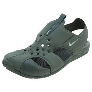 Nike Sunray Protect 2 (PS), Sandales de Sport garçon, Multicolore (Clay Green/Barely GR 300), 33.5 EU (Takemore, neuf)