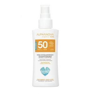 Alphanova - Spray Solaire Voyage Spf50 Bio Sun 90g Alphanova (La Pharmacie, neuf)
