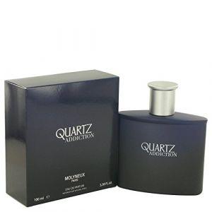 Quartz Addiction Molyneux de Molyneux Eau de Parfum en flacon vaporisateur 3.4oz/95ml (PRIX FOLIE'S, neuf)