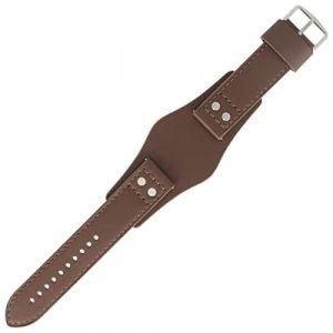 Fossil CH-2565 | LB-CH2565 - Bracelet de montre - 22 mm - Cuir - Marron - FS-2565 (Starlabels, neuf)