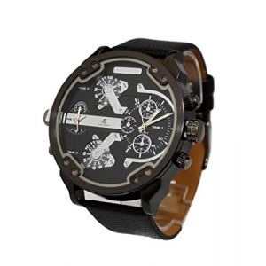 Montre Homme Cadran XXL Design Double Affichage Only The Brave (MONTRE-STYLE, neuf)