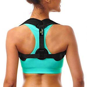 FitMotivaction - Correcteur de Posture Dos Épaules - Redresseur de Posture - Orthèse de Maintien de Dos - Unisexe Homme et Femme (FitMotivaction, neuf)
