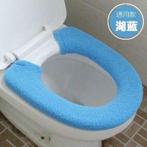 MZP De plus des toilettes de velours épais fixe type commun pot argent pièce fixe le tapis de pot siège de toilette 2 équipée , ??2? (ZhongPing Miao, neuf)