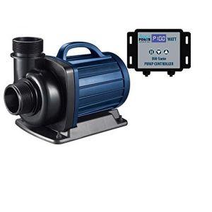 AquaForte Pompe filtrante pour Bassin DM-20000Vario, réglable en continu Entre 34et 187W, 9-20m³/h, Hauteur de refoulement : 7m (Koi-und Bonsaipark Herdecke GmbH, neuf)