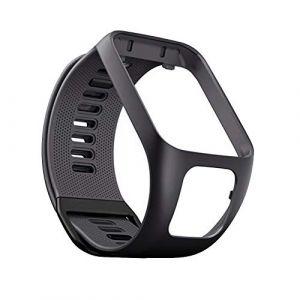 Bracelet de Montre en Silicone pour Tom Tom Runner 2/3 Bracelet de Étanche et Sport pour Tomtom Golfer 7 Adventurer (YVYV-FR, neuf)