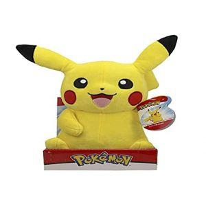 PoKéMoN Pikachu Grande Peluche | Nouvelle Vague 2020 | 30 CM | Détails sous Licence Officielle et Authentiques (Kinderspieleland_1, neuf)