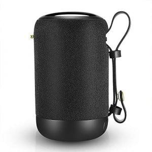 Enceinte Bluetooth Portable, 20W Enceinte Bluetooth Waterproof Haut-Parleur sans Fil, Pilote Double, Son 360° Basses Puissantes, Carte TF Support, Autonomie de 12 Heures pour Camping l'extérieur (Choosice, neuf)