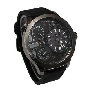 MONTRE HOMME ERNEST GROS CADRAN DOUBLE AFFICHAGE ONLY THE BRAVE (MONTRE-STYLE, neuf)