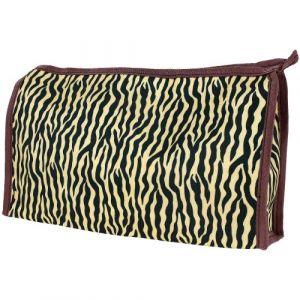 Trousse de maquillage Imprimé léopard Large 27x 17.5x 5cm (Promobo, neuf)