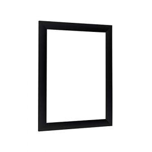 NiRa35-Top Cadre Photo 30x120 cm en Couleur Noir Matt avec Verre Acrylique antireflet (homedesign24, neuf)