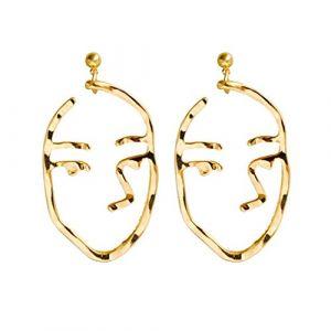 1 paires Femmes Vintage Simple géométrique Boucles d'oreilles fille acrylique U forme d'oreille Anneaux Boucles d'oreille Night Club Mengonee (dtfsfehdfw, neuf)