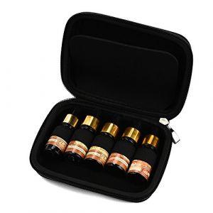 Rameng 10 Etui de Transport d'huile Essentielle Sac de Rangement Bouteilles d'huile Essentielle (noir) (Rameng, neuf)
