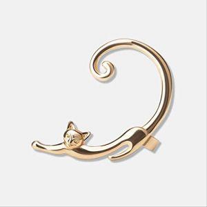 Cadeaux Boucles d'oreilles Boucles d'oreilles simples Creative Animal Kitten Femmes Chat Boucles d'oreilles Bijoux Cadeau délicat1 (Graceguoer, neuf)