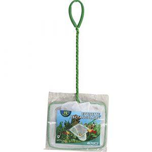 Zolux Epuisette Maille Fine pour Aquarium Blanc 15 cm