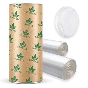 200 M. - ECO Recharge de poubelle à couches Sangenic | Angelcare | Litière Litter Locker II | Recharge équivalente à 16 Recharges Sangenic | Tube en carton pour faciliter la Recharge | 100% Compatible (LA BOUTIQUE FR., neuf)