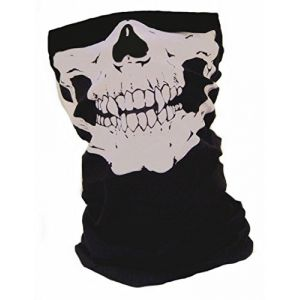 "TOUR DE COU / MASQUE / CAGOULE ""GHOST TETE DE MORT"" CALL OF DUTY MODERN WARFARE / BLACK OPS / BATTLEFIELD / XBOX 360 / PS3 - AIRSOFT / PAINTBALL / MOTO / OUTDOOR (ABSOLUTE DISCOUNT, neuf)"