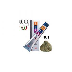 Bes, Hi-Fi Color 100ml 9.1Blond Très Clair Cendre (Mega Soft Line, neuf)