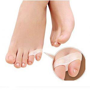 2 pièces/ensemble grand/petit Silicone correcteur orteil séparateur orteil Flexible doigt pieds entretoise séparant lisseur outil (jinpp, neuf)