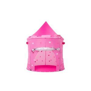 Cabane enfant maison pour fille | CHATEAU DE PRINCESSE | jardin ou intérieur | Tente de Jeu, jouet Pop Up, rose (Kiddus, neuf)