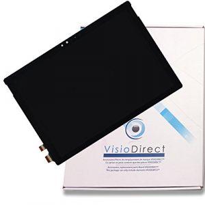 """Visiodirect Ecran Complet Compatible avec Microsoft Surface Pro 4 12.3"""" LTL123YL01-006 Tablette Noire vitre Tactile + écran LCD (visiodirect-, neuf)"""