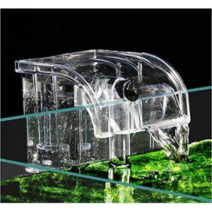 BPS BPS-6077 Filtre externe pour aquarium suspendu, réservoir de poissons externe, filtre à énergie, suspension de cascade Pompe à oxygène 380 l/h (BPS SHOP, neuf)