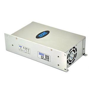 XINCOL 42A 500W Interrupteur transformateur de tension commutateur d'alimentation AC 110V/220V a DC 12V pour rubans a led bande (Xincol, neuf)