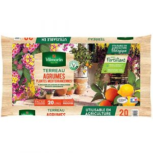 Vilmorin - Terreau agrumes plantes méditerranéennes Vilmorin sac de 20 litres (multitanks, neuf)