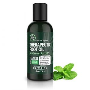 BEST THERAPEUTIC FOOT OIL. Control toe and foot fungus, athletes foot & energize tired feet. Soothing Tea Tree, Menthol & Mint – contains the best antibacterial essential oils. All Natural & Organic (CAREBEAUTY, neuf)