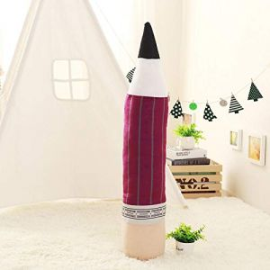 Peluche personnalité créative crayon oreiller coussin poupée poupée fille cadeau-Crayon-violet_85 cm (lizhaowei531045832, neuf)