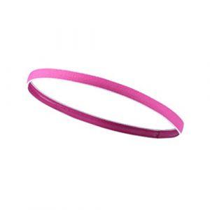 Frcolor Rose rouge Sports Bandeau élastique mince Bandeau exercices Yoga Golf Course à Pied Bandeau pour homme femme (Ansuen, neuf)