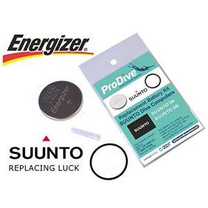 Kit batterie pour Suunto D6D6i ordinateur de plongée NEUF (ProDive, neuf)