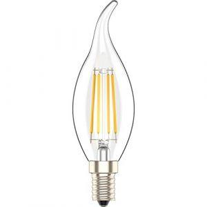 5X Dimmable Ampoule LED E14 Flamme Bougie 4W Blanc Chaud 2700K,30W Ampoules à incandescence équivalent,AC 220V,Lot de 5 pièce (Atesny, neuf)