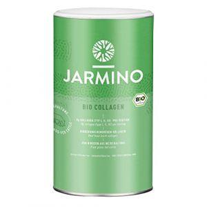 Poudre de collagène biologique | Collagène et protéines provenant de bovins nourris à l'herbe | Alternative aux peptides hydrolysates de collagène | Aucun additif | 300g (JARMINO, neuf)