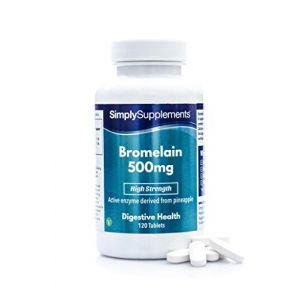 Bromélaïne 350mg | Enzymes digestives | Pour les articulations | 120 Gélules | Simply Supplements (SimplySupplements, neuf)