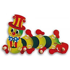 Dida - Porte-Manteaux Enfant – Chenille Pomme - Porte Manteau Mural en Bois pour Chambres d'enfant et bébé (Dida toy, neuf)