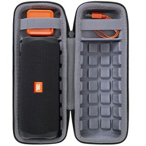 Étui de Voyage Rigide Housse Cas pour JBL Flip 3 4 Special Edition - Enceinte portable Bluetooth par co2CREA (Black hard case) (iKole, neuf)