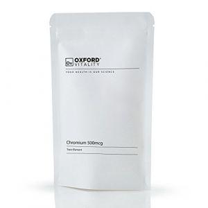 Oxford Vitality - Comprimés Picolinate de Chrome 500mcg (Oxford Vitality, neuf)