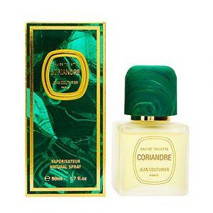 JEAN COUTURIER Coriandre Eau de Toilette  Vaporisateur 50 ml (Parfums de Sauvat, neuf)
