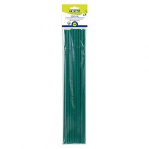 Tenax 06863 Tuteur Plastique Vert 45 cm Lot DE 20 (Provence Outillage, neuf)