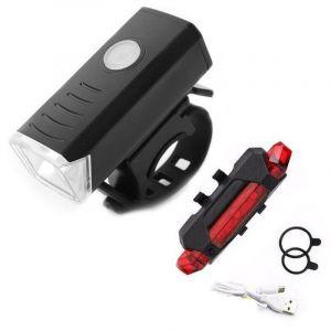 asbter USB Rechargeable Eclairage Arrière Vélo Lampe Arrière LED pour Vélo Lampe Arrière Rouge Ultra Lumineuse et Facile à Installer pour Une Sécurité Optimale (asbter, neuf)