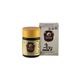 GINSENG ROUGE COREEN EXTRAIT GOLD 50g, Pour 45 jours. La meilleure qualité de Ginseng Rouge Coréen. La plus forte concentration possible en Ginsénosides (Rg1, Rb1, Rg3 > 13 mg/g). (Ginseng Premium, neuf)