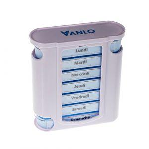 Tower Dose de pillules Boîte à médicaments avec 4 Lignes de planification quotidienne - Français (VANLO, neuf)