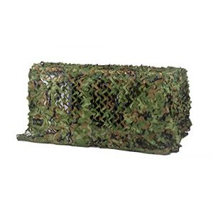 Chiglia Filet de Camouflage 6x7m Woodland Couverture Camouflage Filet Net (Wanli Zhao, neuf)