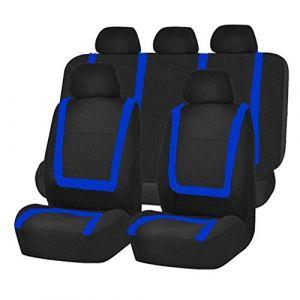 Housses de siège Universelle pour Auto Couverture de siège de Voiture,Amovible et Lavable,Bleu (HotYou, neuf)