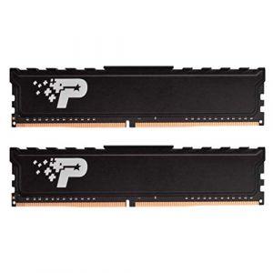 Patriot Memory Série Signature Premium Kit de mémoire DDR4 2666 MHz PC4-21300 32Go (2x16Go) C19 - PSP432G2666KH1 (GadgetLifestyle, neuf)