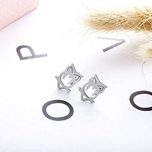 ERHUANEH Nouvelles Boucles D'Oreilles Chouette Mignonnes De Style Chaud Pour Les Bijoux De Femmes (quanchuanshuowenhuafazhan, neuf)